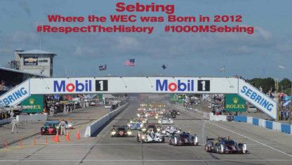 foto: Previo 1.000 Millas de Sebring 2019 del Mundial de Resistencia