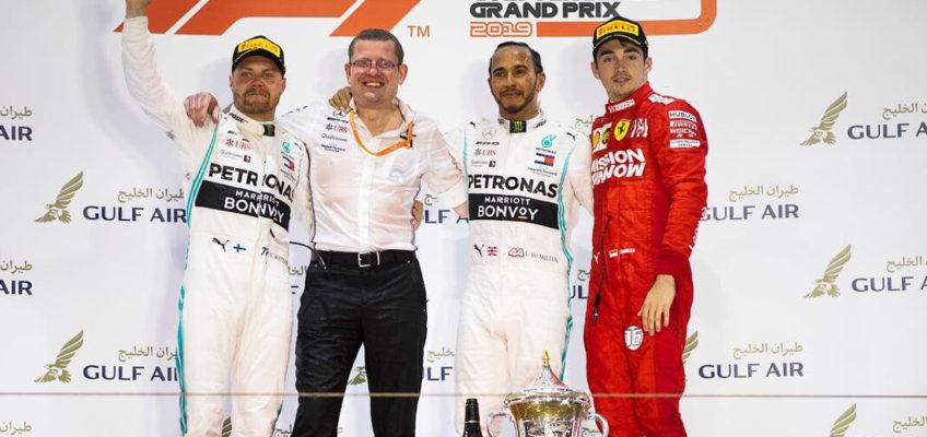 GP de Baréin F1 2019: Doblete de Mercedes en otro fracaso de Ferrari