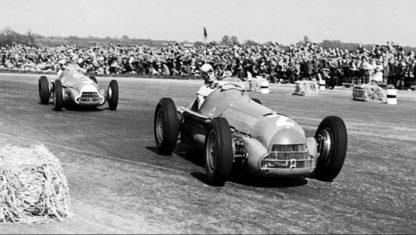 foto: La primera carrera de Fórmula 1: GP de Gran Bretaña 1950