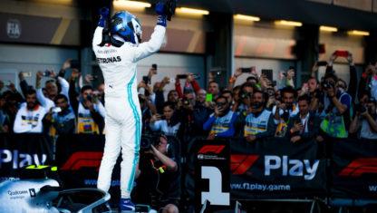 foto: GP de Azerbaiyán F1 2019: Bottas recupera el liderato en el cuarto doblete de Mercedes