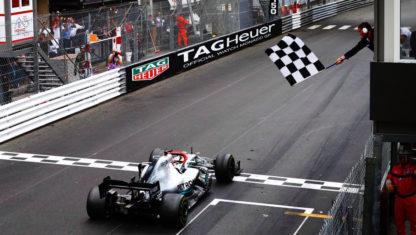 foto: GP de Mónaco F1 2019: Hamilton resiste y gana