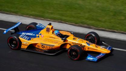 foto: Anatomía de un fracaso: Alonso, eliminado de las 500 Millas de Indianápolis