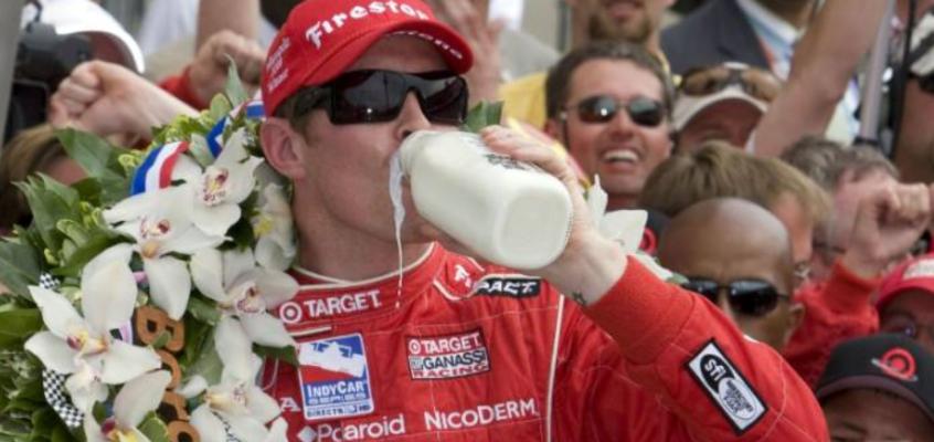 ¿Por qué bebe leche el ganador de las 500 Millas de Indianápolis?