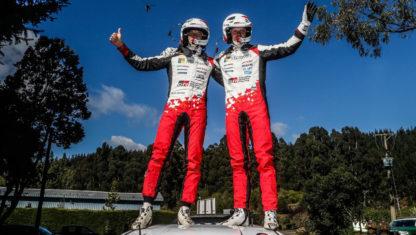 foto: Rally de Chile WRC: Victoria de Tänak y liderato para Ogier