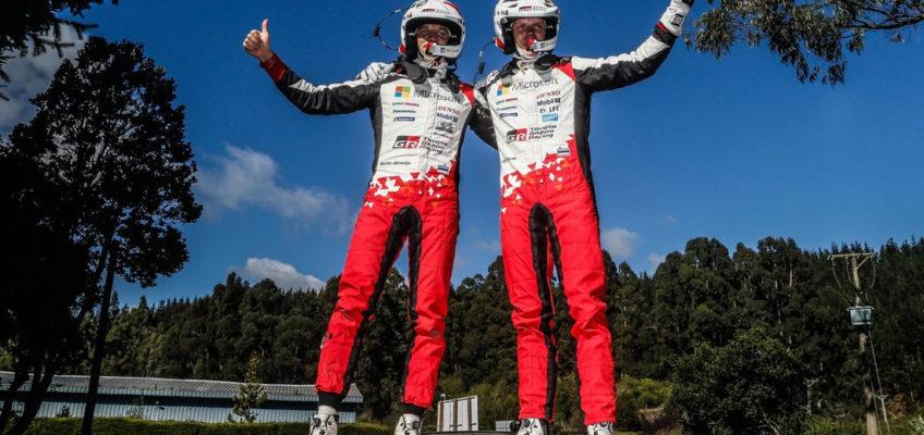Rally de Chile WRC: Victoria de Tänak y liderato para Ogier