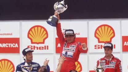 foto: 25 años sin la magia de Ayrton Senna