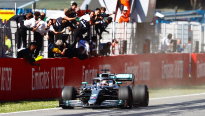 foto: GP de España F1 2019: Hamilton y Mercedes se pasean en Barcelona