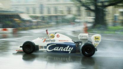 foto: GP de Mónaco F1 1984:Senna deslumbra al mundo
