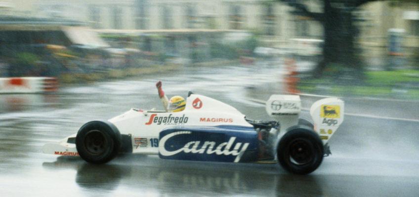 GP de Mónaco F1 1984:Senna deslumbra al mundo