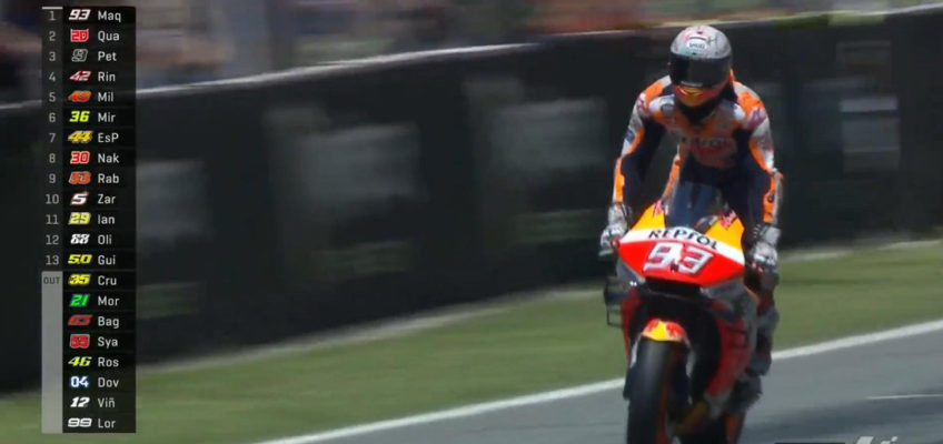 GP Cataluña MotoGP: Lorenzo allana el triunfo a Márquez