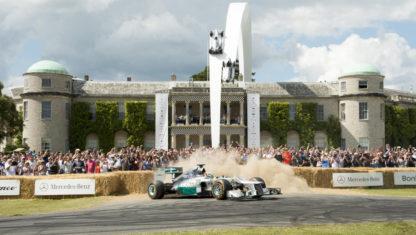 foto: Festival de la Velocidad de Goodwood, el sueño de un lord inglés