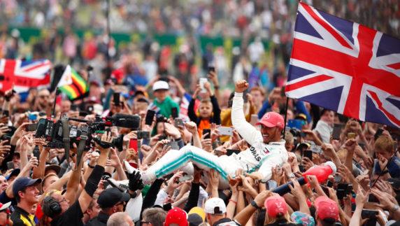 foto: GP Gran Bretaña F1: Hamilton hace Historia en casa