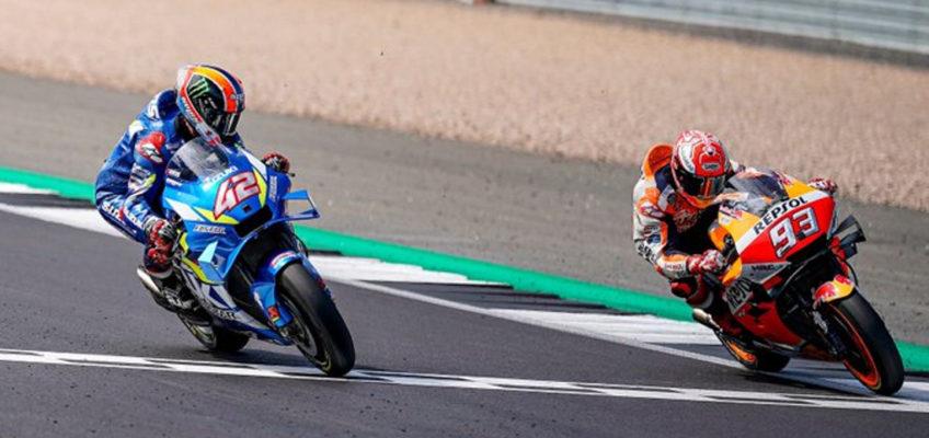 GP Gran Bretaña MotoGP: Épica victoria de Rins ante Márquez