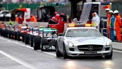 foto: Cuando el coche de seguridad del Motorsport es un… ¡peligro!