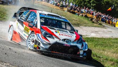 foto: Rally Alemania 2019: Triplete de Toyota y de Tänak en el WRC