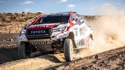 foto: Alonso, junto a los grandes en el Rally de Marruecos 2019