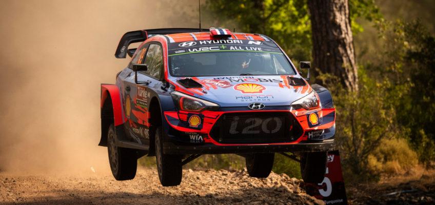 Calendario del Mundial de Rallys 2020