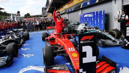 foto: Gran Premio de Bélgica F1 2019: Primera y triste victoria de Leclerc
