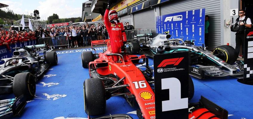 Gran Premio de Bélgica F1 2019: Primera y triste victoria de Leclerc