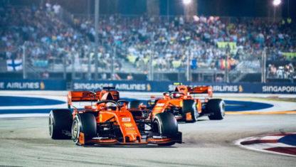 foto: GP Singapur F1 2019: Vettel vuelve a ganar en un doblete insólito de Ferrari