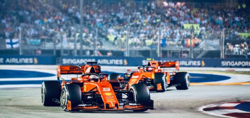 GP Singapur F1 2019: Vettel vuelve a ganar en un doblete insólito de Ferrari