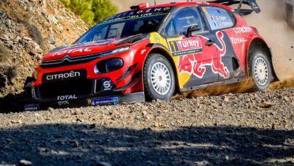 foto: Rally Turquía 2019: Ogier lidera el doblete de Citroën