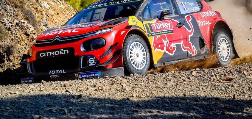 Rally Turquía 2019: Ogier lidera el doblete de Citroën