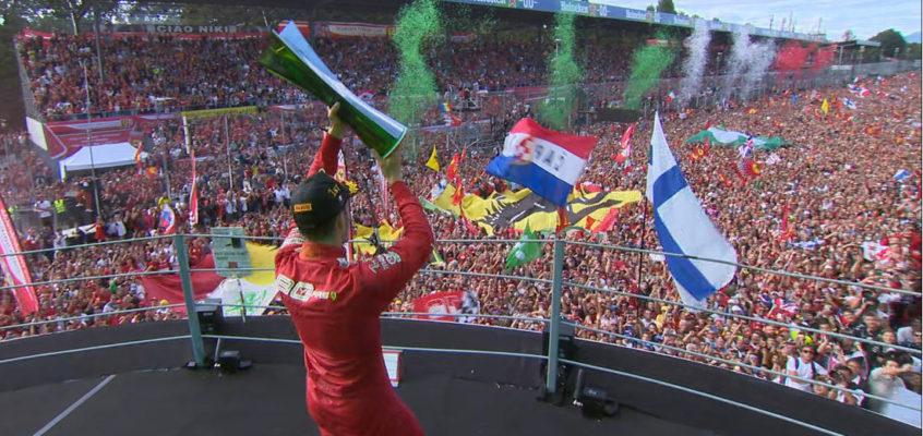 GP Italia F1 2019: Triunfo apoteósico de Leclerc