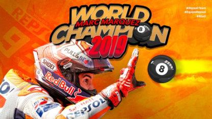 foto: GP Tailandia MotoGP 2019: Márquez octocampeón tras ganar en la última curva