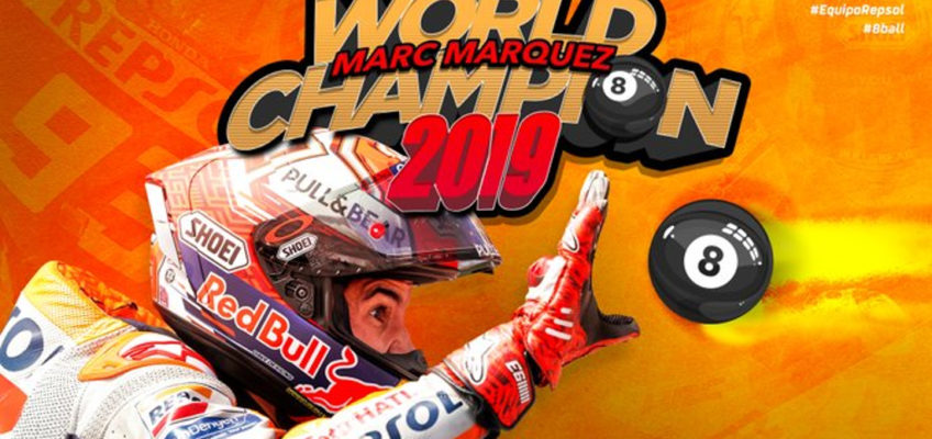 GP Tailandia MotoGP 2019: Márquez octocampeón tras ganar en la última curva