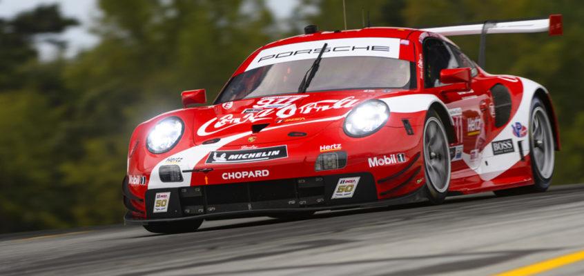 El homenaje secreto de los Porsche 911 RSR 'Coca-Cola'