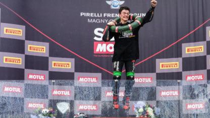 foto: Así es Manu 'Gas', el Campeón más joven en la Historia del Motociclismo