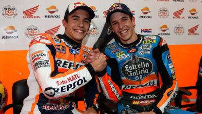 foto: Álex y Marc Márquez, juntos en el HRC de MotoGP en 2020