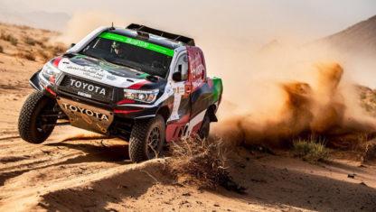 foto: Alonso logra en Arabia su primer podio en un raid