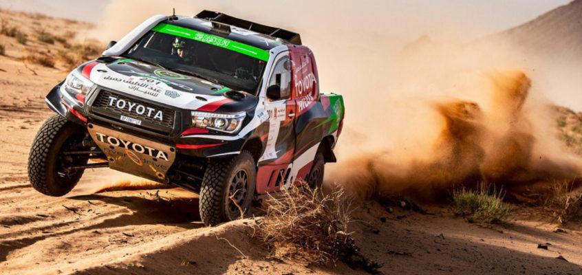 Alonso logra en Arabia su primer podio en un raid