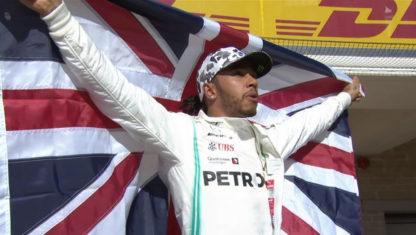 foto: GP de Estados Unidos F1 2019: Hamilton, hexacampeón, supera a Fangio