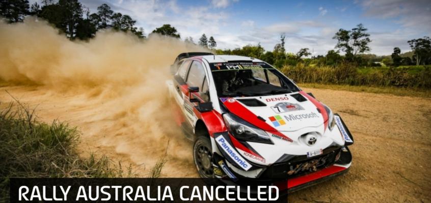 El Rally de Australia, cancelado por los incendios