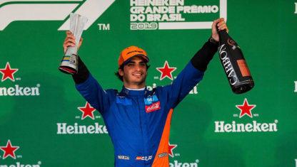 foto: Carlos Sainz hace historia en la Fórmula 1 con su primer podio