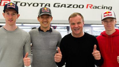 foto: Toyota contraataca con Ogier y Evans para el WRC 2020