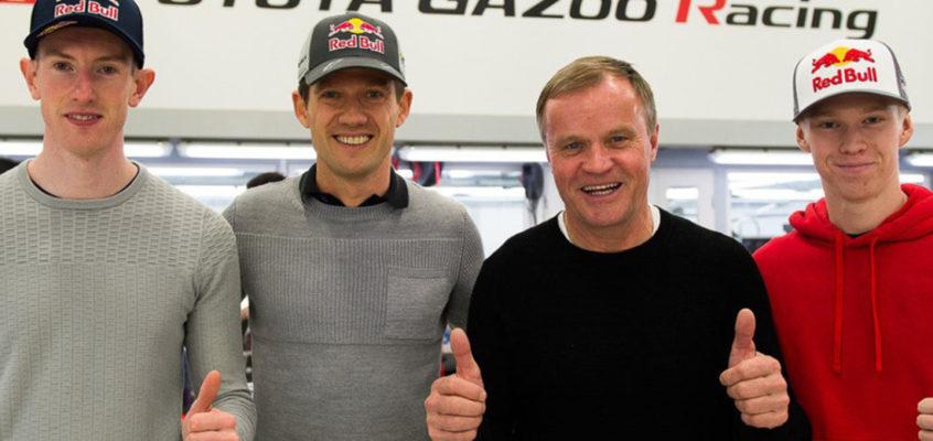 Toyota contraataca con Ogier y Evans para el WRC 2020