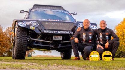 foto: Los hermanos Coronel presentan su 'bestia' para el Dakar 2020
