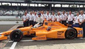foto: Alonso correrá las 500 Millas de Indianápolis en 2020