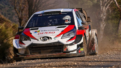foto: Katsuta correrá con Toyota ocho pruebas del WRC 2020