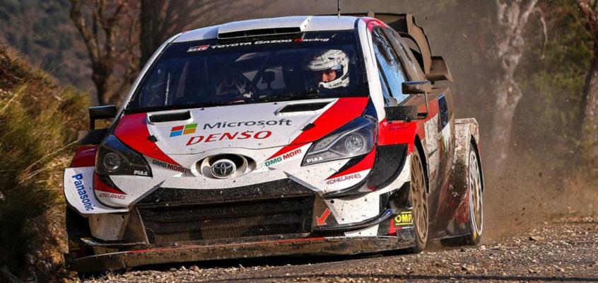 Katsuta correrá con Toyota ocho pruebas del WRC 2020