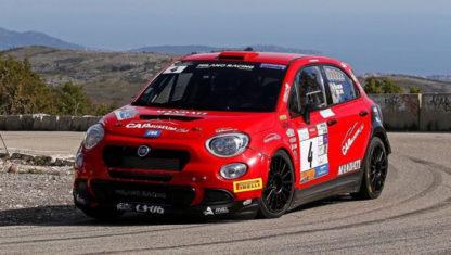foto: Debut del Fiat 500X R4 en el WRC en Montecarlo