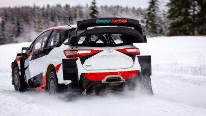 foto: Toyota WRT prepara en Suecia el WRC 2020