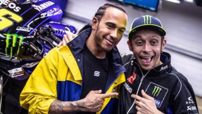 foto: Ya está aquí el duelo entre Hamilton y Rossi