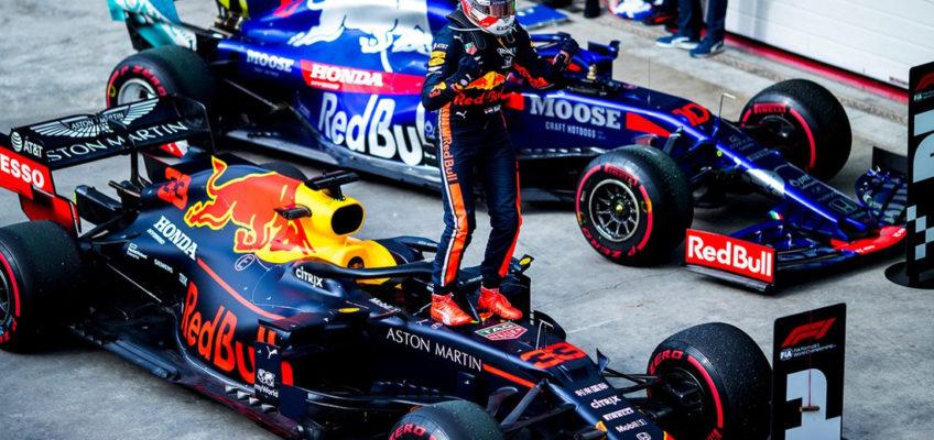 Max Verstappen renueva con Red Bull hasta finales de 2023