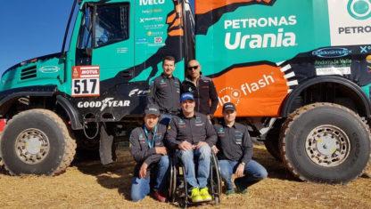 "foto: Albert Llovera: ""Al final de cada etapa, comienza otra Dakar para mí"""