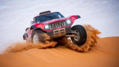 foto: Carlos Sainz, líder tras la primera semana del Dakar